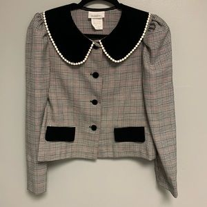 Vintage (set) Houndstooth Women's Business Outfit
